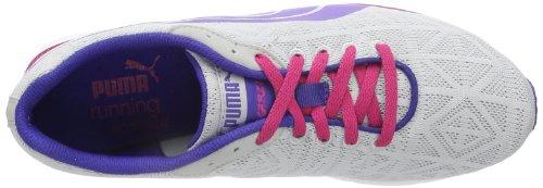 Puma Narita v2 Wns - Zapatillas de correr de material sintético mujer Grau (glacier gray-spectrum blue-beetroot purple 01)