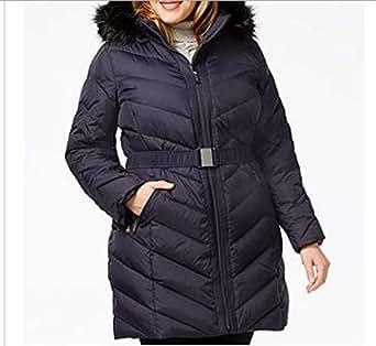 Amazon.com: DKNY Women's Winter Black Down Puffer Parka