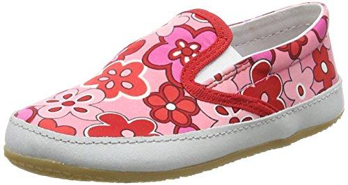Living Kitzbuhel M&AumlDchen Flower-Design Hausschuhe Pink (365)