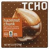 TCHO Milk Chocolate, Hazelnut Chunk, 2.5 Ounce