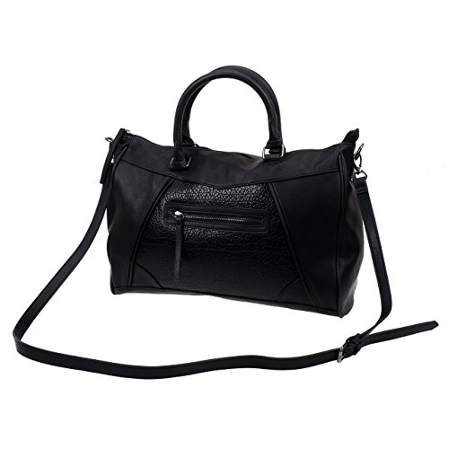 Pieces - Pauline bag black - Sac à main - Noir - Taille Unique