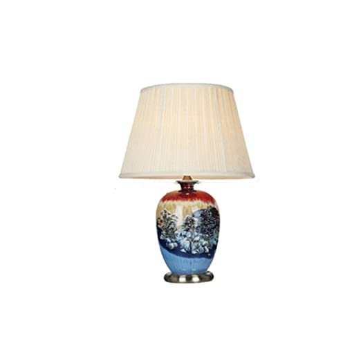 AAPDZ Lámpara de mesa de cabecera del hogar, lámpara de escritorio ...