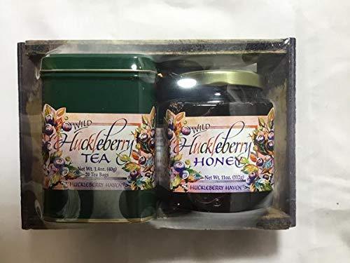 Gift Box - Huckleberry Tea and Honey