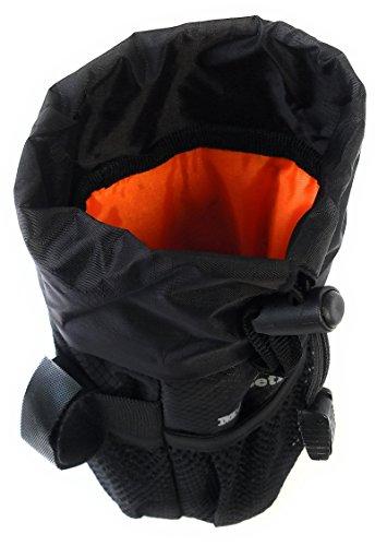 Moosetreks Bike Handlebar Stem Bag | Food Snack Storage, Water Bottle Holder | Bikepacking, Bicycle Touring, Commuting, Insulated Pouch by Moosetreks (Image #3)