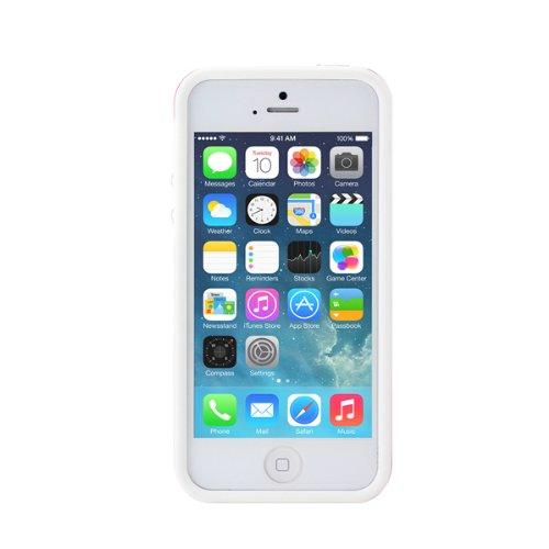 Prodigee Sneaker, Peach / White Weib iPhone 5 5s SE Schutz dünn Hülle Stück dünner dünn Schalen phone case
