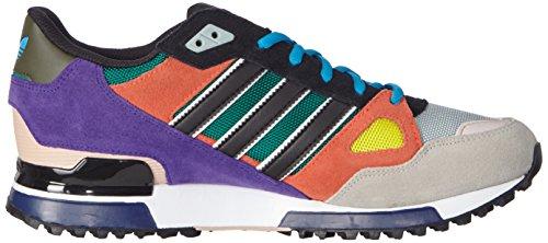 adidas ZX 750 - Zapatillas para hombre Beige / Morado / Naranja / Negro