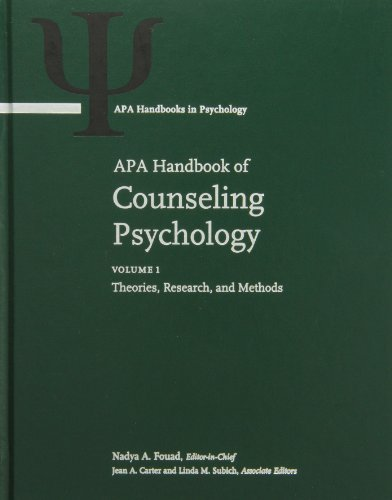APA Handbook of Counseling Psychology