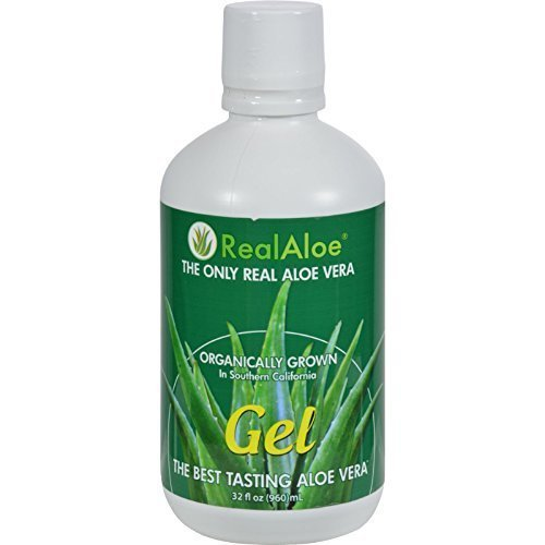 Aloe Vera Gel, 32 oz ( Multi-Pack) by Real Aloe