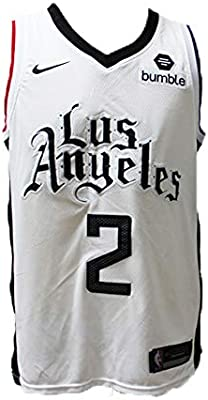 LAMBO Hombres Baloncesto Jersey # 2 Kawhi Leonard Los Angeles ...