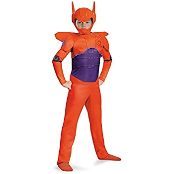 Red Baymax Classic Costume, Medium (7-8)