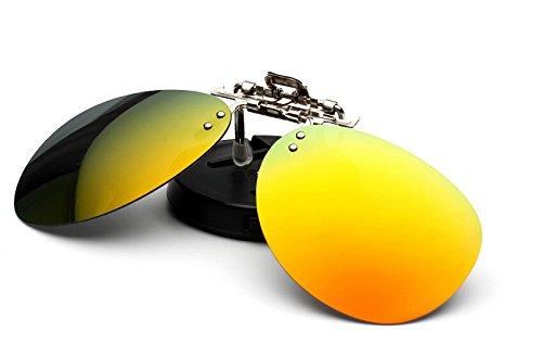 4 opinioni per Zheino Uomini alla moda Donne Polarized Clip-on Occhiali da sole in plastica