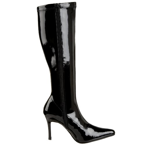 Funtasma Av Pleaser Womens Lust-2000 Boot Svart Str Patent
