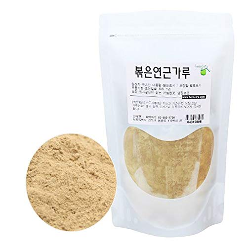 Korean Natural Dried Roasted Lotus Root Powder 10.5oz(300g) Herbal Herbs