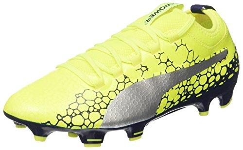 Puma Vigor Homme Depths Graphic blue de Evopower silver Chaussures Safety FG Football 3 Jaune Yellow RZrRq