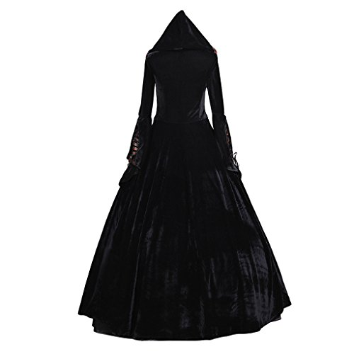 CosplayDiy Women's Deluxe Hooded Collar Victorian Dress Costume XXL by CosplayDiy (Image #3)