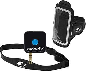 Monitor de frecuencia cardíaca Runtastic Pro con cinta de pecho ...