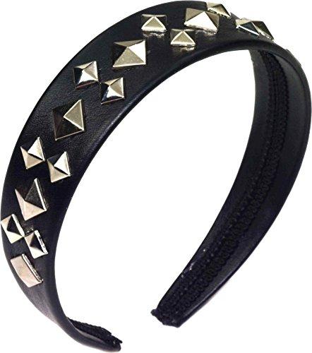 [Spirit Punk Stud Headband] (Punk Rocker Costume Accessories)