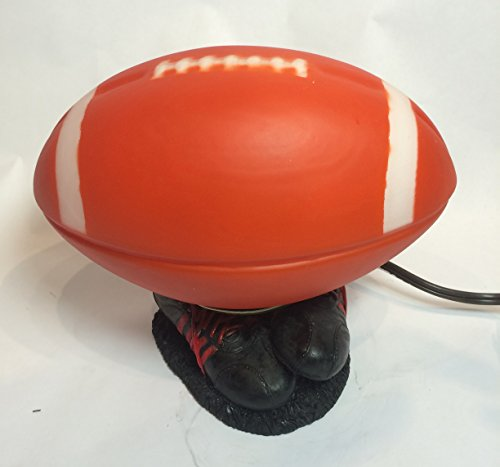 Football NFL, NCAA Basketball Shoes Metal Glass Desk Lamp Night Light (TL4014E)