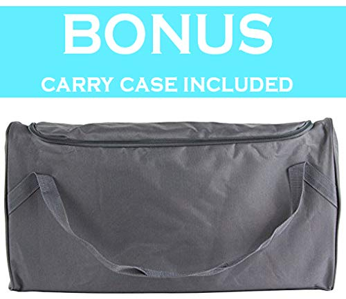 NapYou Amazon Exclusive Pack n Play Mattress, Convenient Fold with Bonus Easy Handle Carry Bag by NapYou (Image #5)