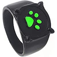 LIU JUN Cat Noir Ring for Kids?Cosplay Adults Teen Girls Boys Toys Black Anime Unique Cool Size?4 5 6 7 8 9 10?