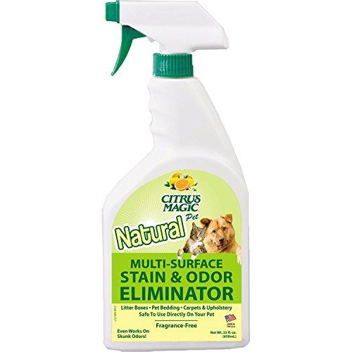 - Citrus Magic Pet Odor Eliminator 22 Ounce Spray