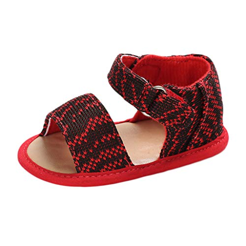- ❤️ Sunbona Toddler Baby Boys Girls Beach Sandals Infant Kids Summer Casual Soft Sole Anti-Slip Printing Shoes Flat Sneaker