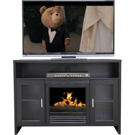 42 in tv stand fireplace - 1