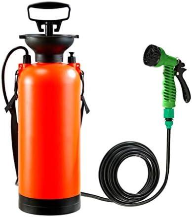 8Lアウトドアキャンプのシャワーポータブルお風呂の多機能スプレー旅行じょうろ花カーウォッシュ小型噴霧器 (Size : 8L)