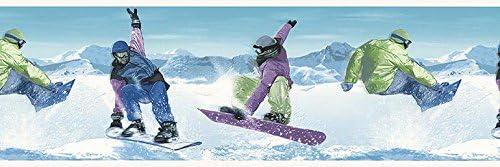 スケート壁紙ボーダー B74880