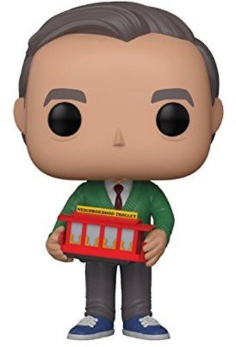 Funko POP! TV: Mr. Rogers Mr Rogers Collectible Figure, Multicolor Funko Pop! Television: 30161 Accessory Toys & Games