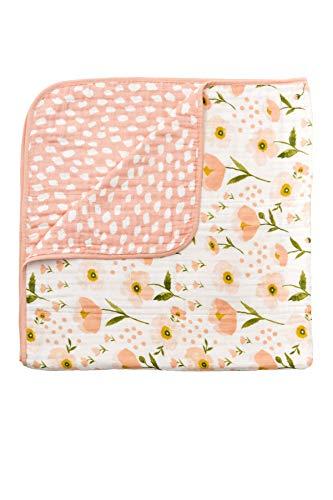 Blush Bloom Reversible Quilt ()