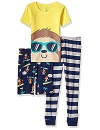Carter's boys 3-piece Cotton Pajamas