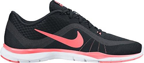 011 Glow Gimnasia para Zapatillas Trainer Lava Black Anthracite Mujer Nike de 6 Negro Wmns Flex wU4n1a4