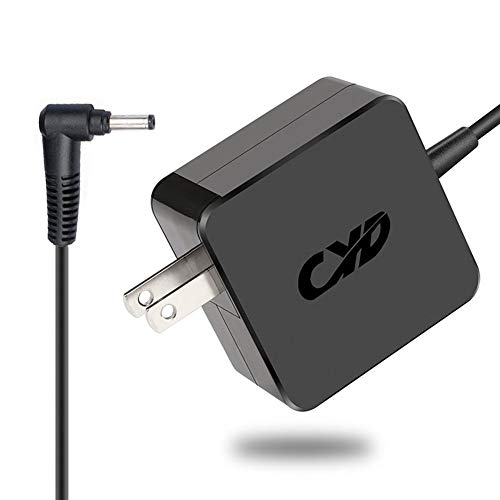 Qyd 45w 20v 2.25a Power-Fast-Laptop-Charger for Lenovo IdeaPad 100 100-15 IBY 100 100s 110s 100-14 IBY 110 110-14ISK 110-14IBR 110-15 110-15IBR PA-1450-55LN 110-15ISK 80UD 2.5m Power ac Adapter Cord by QYD