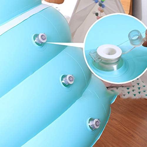 SBWFH ブルーインフレータブルバスタブ - インフレータブル肥厚家庭用折りたたみバスタブプラスチックPVC素材バスタブ