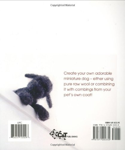 Fleece Dog: A Little Bit of Magic Created with Raw Wool and a Special Needle by Brand: CnT Publishing