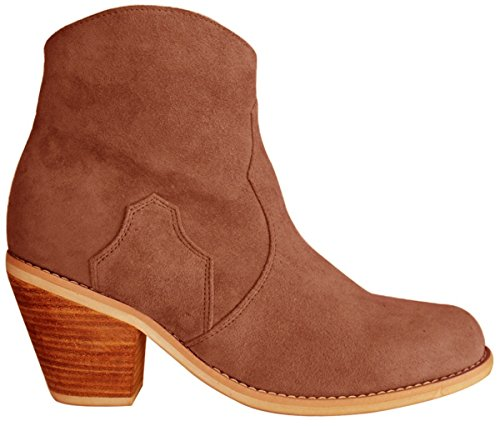 Customized Design 11sunshop EU Suede Boots Model HGilliane only 44 33 to Ankle Brown DONA ZAZpcag