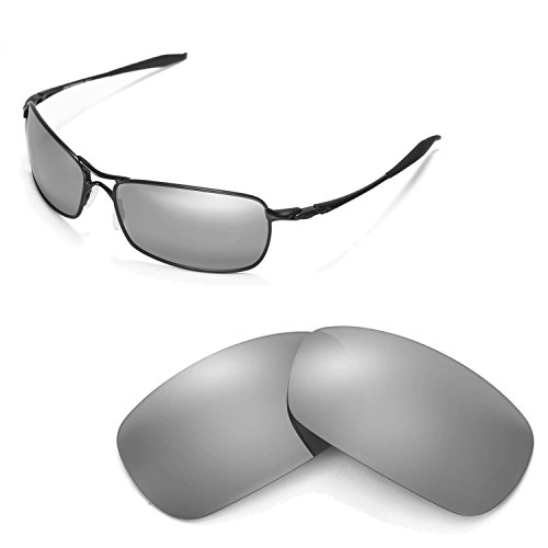 Walleva Replacement Lenses for Oakley Crosshair 2.0 Sunglasses - Multiple Options Available (Titanium Mirror Coated - - 2.0 Lenses Oakley Crosshair