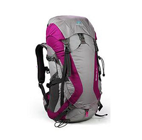 Tofine External Frame Backpack Backpackers Survival Gear Bag for 72 Hour 3 Day with Rain Cover Hot Pink 32L by Tofine (Image #1)