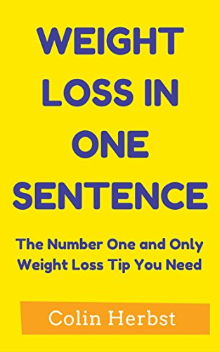 number one weight loss tip