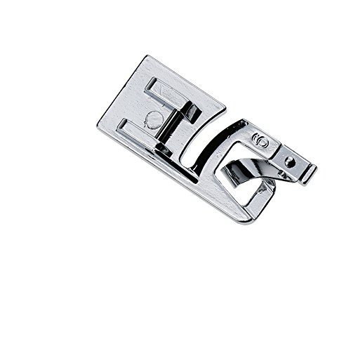 (YaDu Narrow Rolled Hem Sewing Machine Presser Foot 6mm - Fits All Low Shank Snap-On Singer, Brother, Babylock, Euro-Pro, Janome, Kenmore, White, Juki, New Home, Simplicity, Elna and More!)