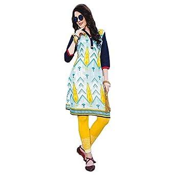 b11a661863 Littledesire Women Printed Cotton Kurta: Amazon.in: Clothing & Accessories