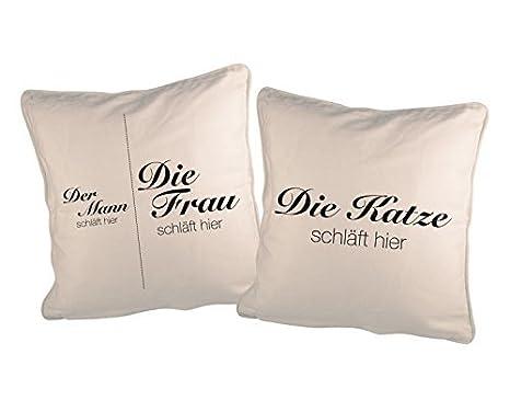 GD de Designs - Cojín decorativo (Juego 2 fundas de almohada ...