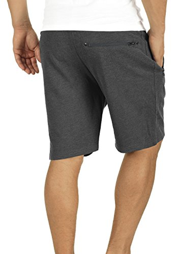 Corta Gris Para Sudadera Pantalones 8288 Oscuro Cortos Melange Para Hombre Taras Bermuda Hombre a1Zqzw