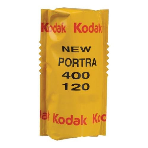 Kodak Portra 400 Professional ISO 400, 120mm, Color Negative Film (1 Roll) 4332058106