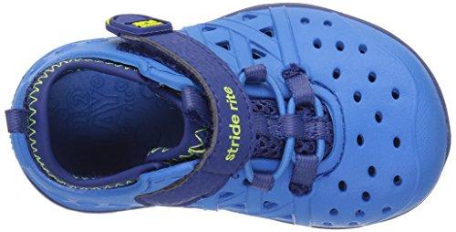 Stride Rite Made 2 Play Phibian Sneaker Sandal Water Shoe (Toddler/Little Kid/Big Kid), Blue, 10 M US Toddler