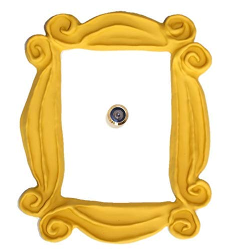 Marco de la mirilla para la puerta. Réplica artesanal para tu entrada, como la que tenían en la serie Monica y Rachel.