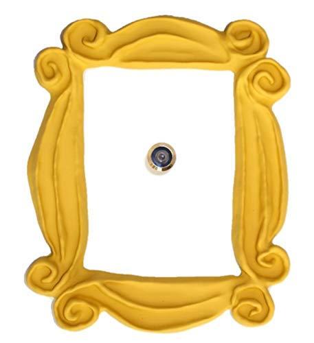 Marco de la mirilla para la puerta Replica artesanal para tu entrada, como la que tenian en la serie Monica y Rachel
