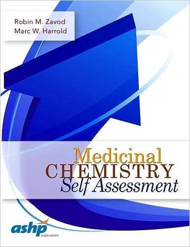 Medicinal Chemistry Self Assessment: 9781585284641: Medicine