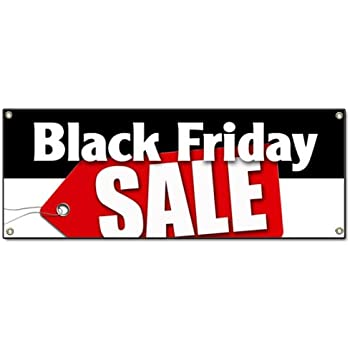 Amazon.com: Black Friday - Cartel de vinilo de 7.9 ft de ...